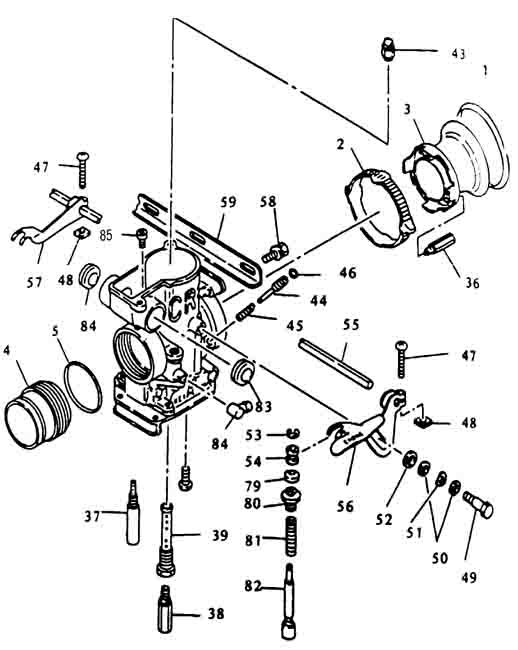 Weber Carb Schematic
