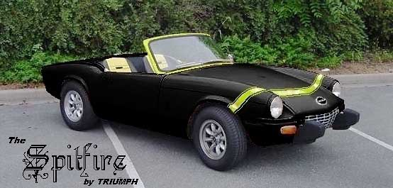Triumph Spitfire Side Amp Top Stripes And Other Color Schemes