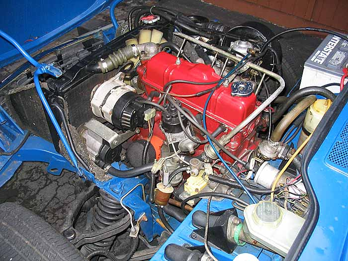 Spitfire/GT6 Engine Photo Pages
