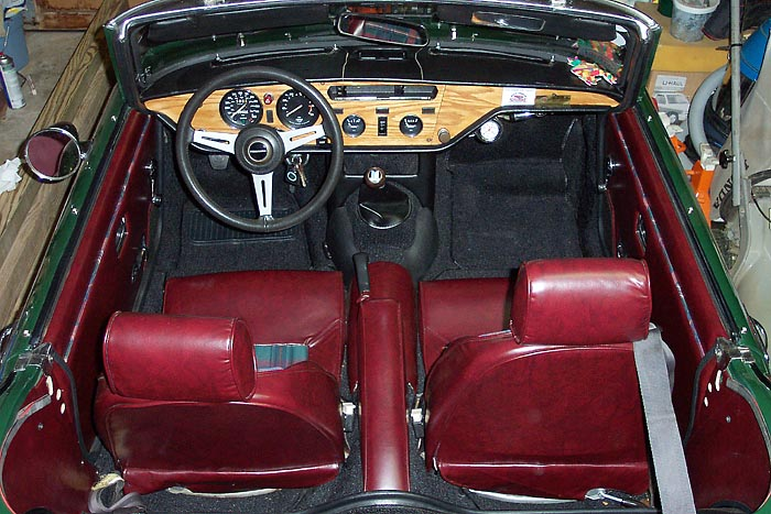 Spitfire Gt6 Interior Photo Pages