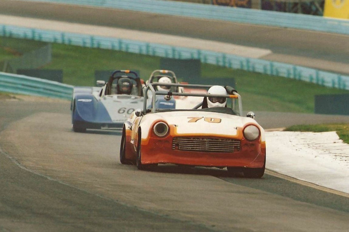 Spitfire and GT6 Race Car