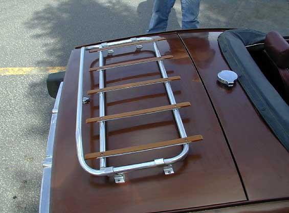 Triumph Spitfire Luggage Rack Info