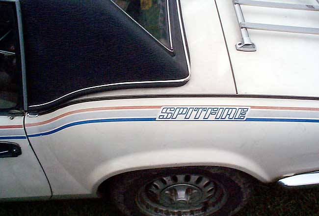 Triumph Spitfire Side Stripes