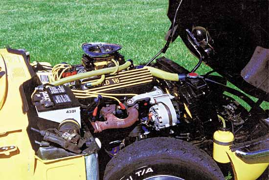 Dayton J  Carpenter 's Chevy V6