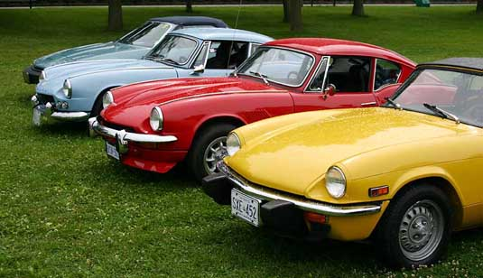 Triumph Spitfire And Gt6 Models Discussed By Year And Available Options